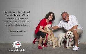 Lesehund Verein Schirmherr Konstantin Wecker